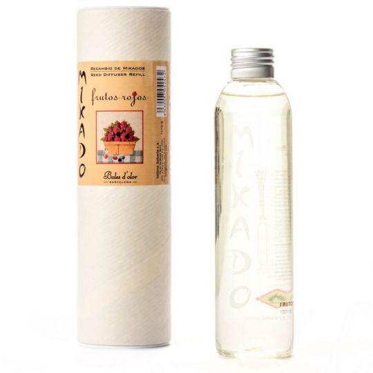 Boles d'olor - Woodies navulling (geurolie geurstokjes diffuser) - Frutos Rojos (rode vruchten)