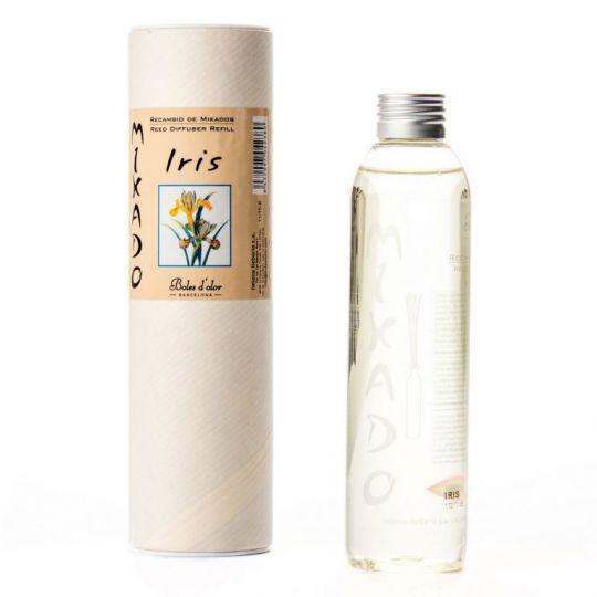 Boles d'olor - Woodies navulling (geurolie geurstokjes diffuser) - Iris