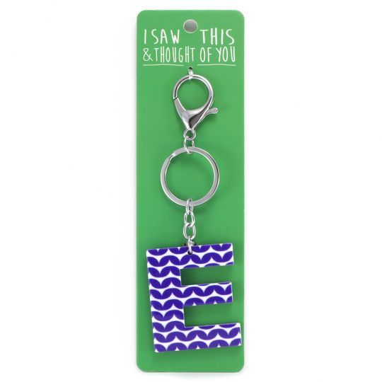 Keyring - I saw this & thought of You - E