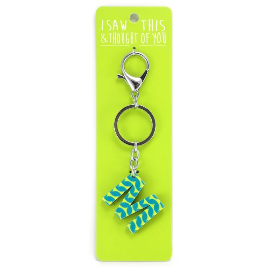 Keyring - I saw this & thought of You - M
