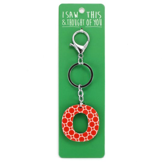 Keyring - I saw this & thought of You - O