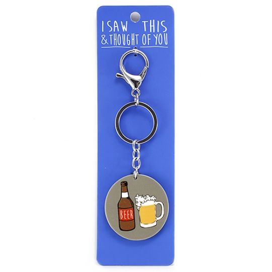 Keyring - I saw this & I thougth of You - Beer