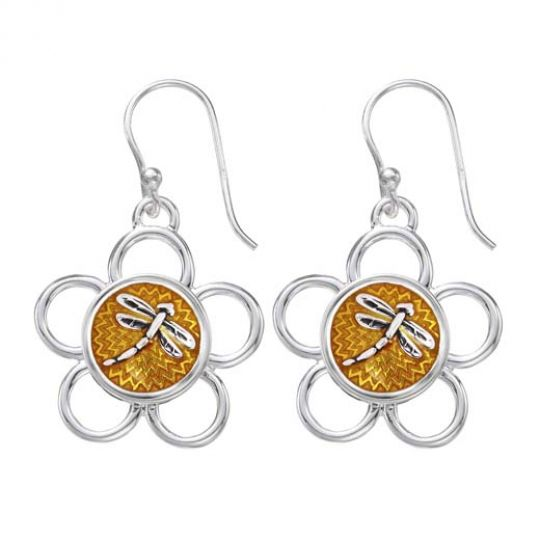 KE10 - Earring Wire Flower - Limited Edition