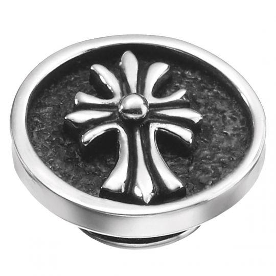 KJP135 - JewelPop Silver Cross