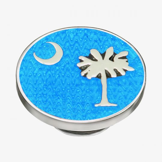 KJP137LB - JewelPop Palmetto Moon - Light Blue