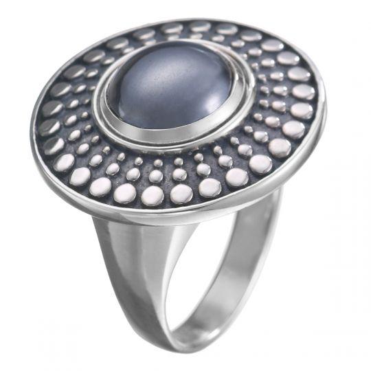 KR23 - Zilveren ring - 15,75