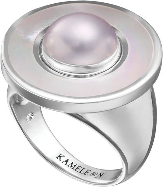 KR25 - Ring White Mother of Pearl LE - 15,50