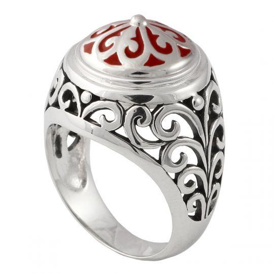 KR6 - Zilveren Ring-18