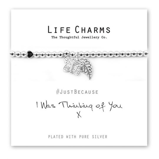480207 - Life Charms - LC007BW - Just because - Thinking of You