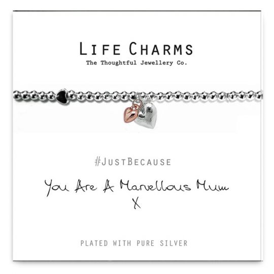 480208 - Life Charms - LC008BW - Just because - Mum