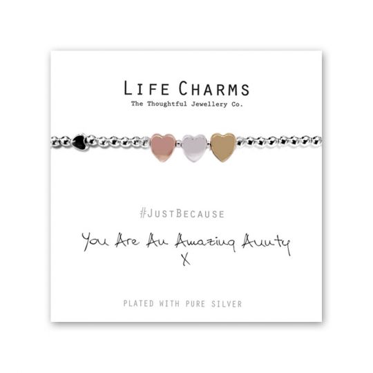 480218 - Life Charms - LC018BW - Just because - Aunty