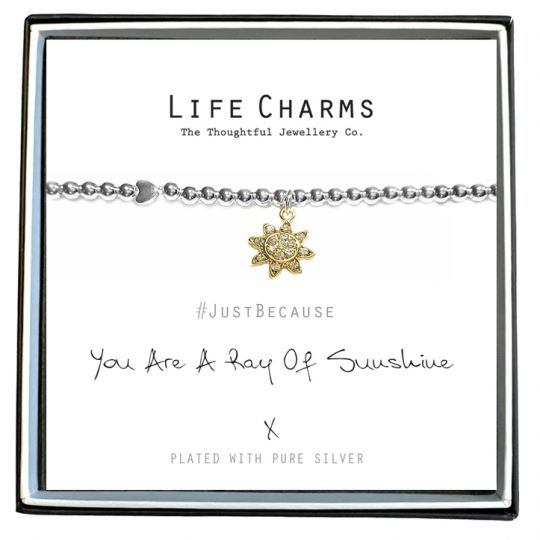 480242- Life Charms - LC042BW - Just because - Sunshine