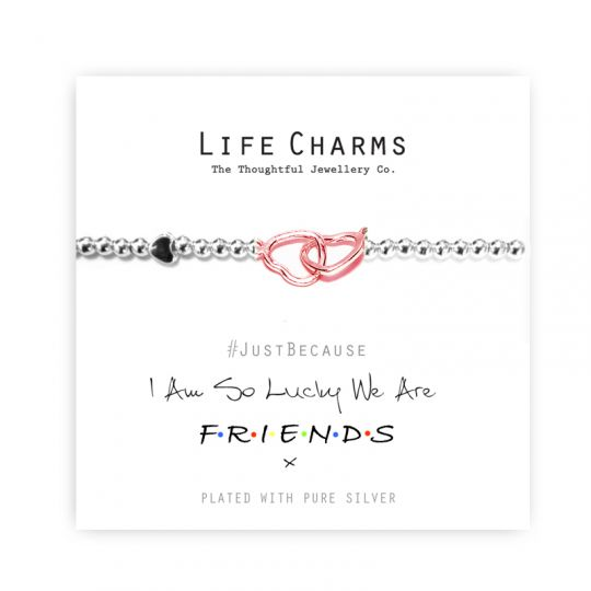 480274 Life Charms - LC074BW - Just because - Friends
