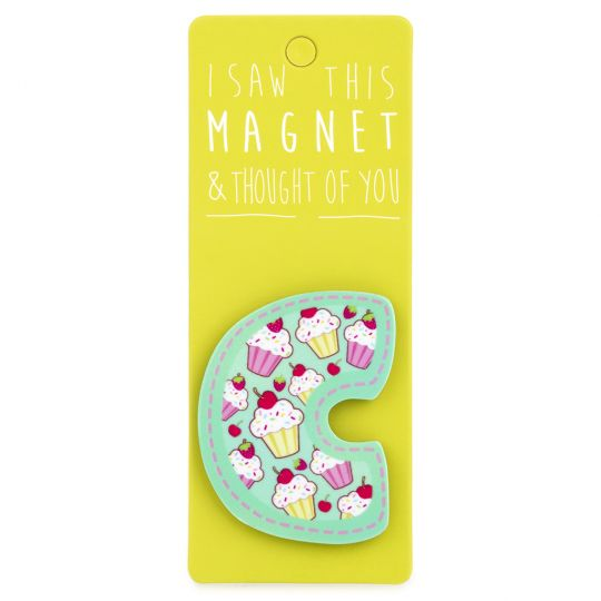 I saw this Magnet and .... - MA023 - Letter C