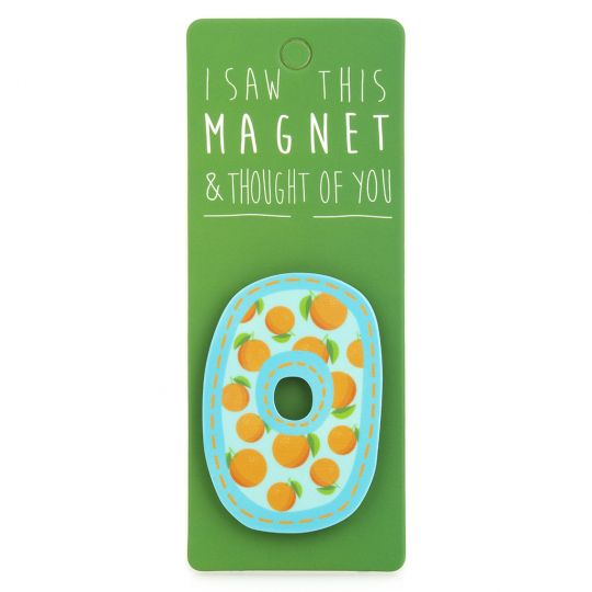 I saw this Magnet and .... - MA035 - Letter O
