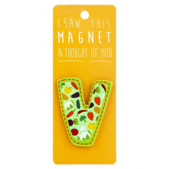 I saw this Magnet and .... - MA041 - Letter V