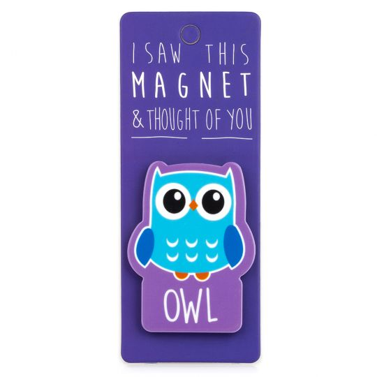 I saw this Magnet and .... - MA081 - Owl