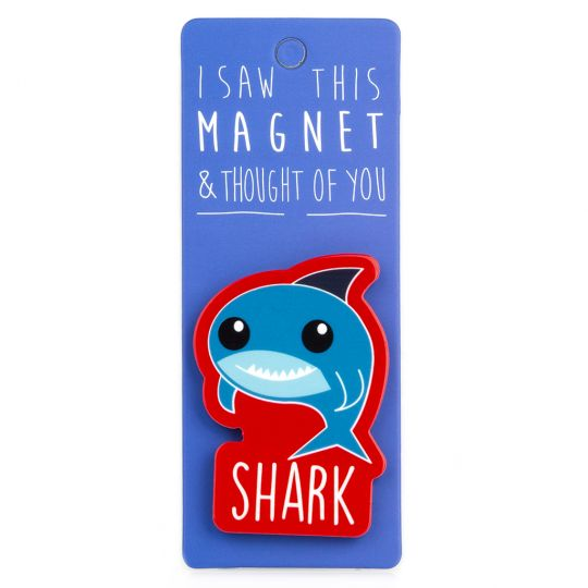 I saw this Magnet and .... - MA082 - Shark
