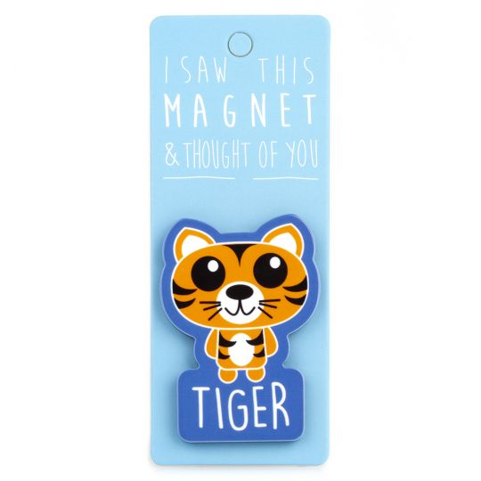 I saw this Magnet and .... - MA084 - Tiger