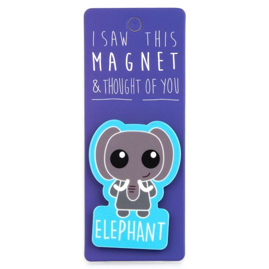 I saw this Magnet and .... - MA086 - Elephant
