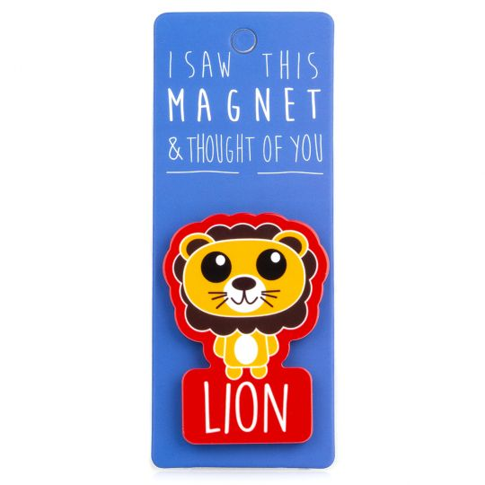 I saw this Magnet and .... - MA087 - Lion