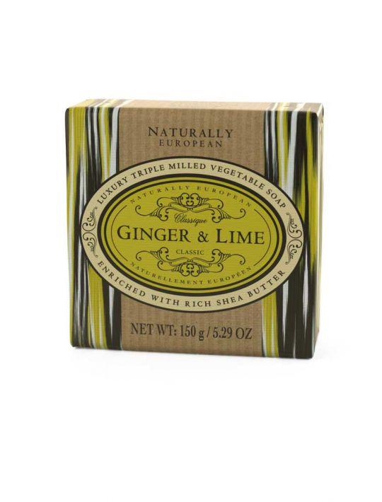 Naturally European Soap Ginger & Lemon
