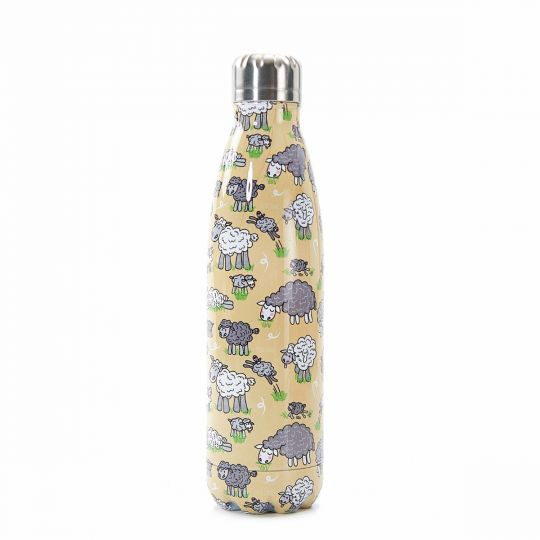 Eco Chic - The Bottle Thermosfles - T17 -  Sheep