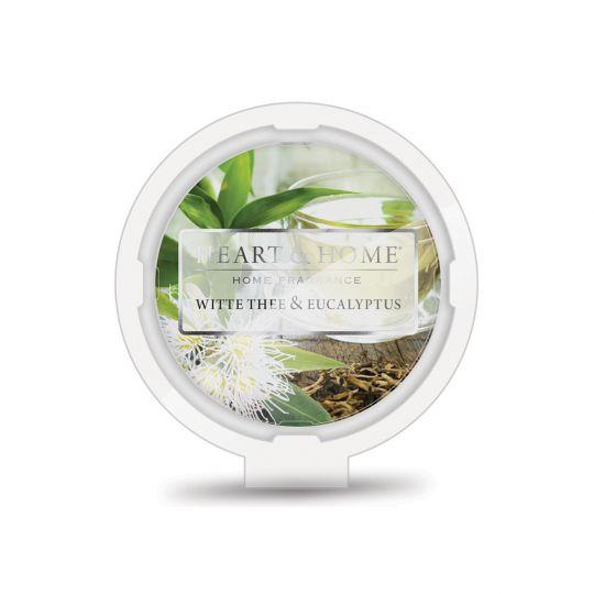 Heart & Home Geurwax - Witte thee Eucalyptus