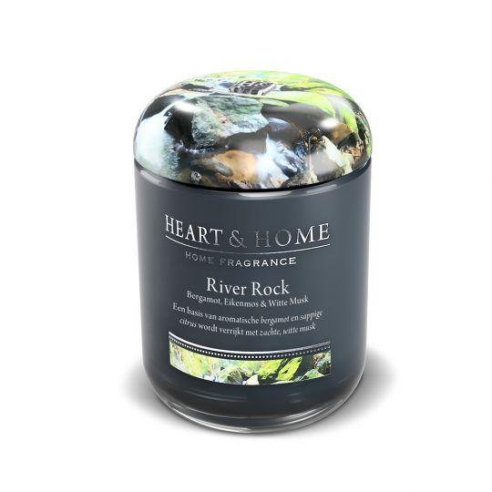 Heart & Home kaars - Aardbeien Roomijs (groot)