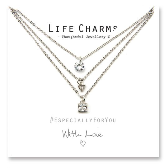 480664 - Life Charms - ELNJ0064 - Buttons Necklace