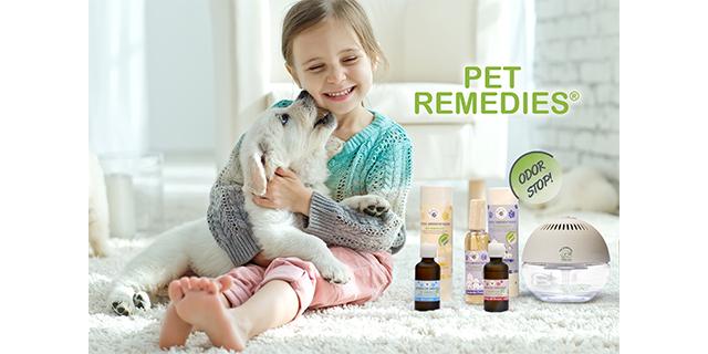 Ongewenste dierenluchtjes? Pet Remedies helpt!